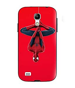 Case Cover Spider Man Printed Red Soft Silicon Back Cover For Samsung Galaxy S4 Mini