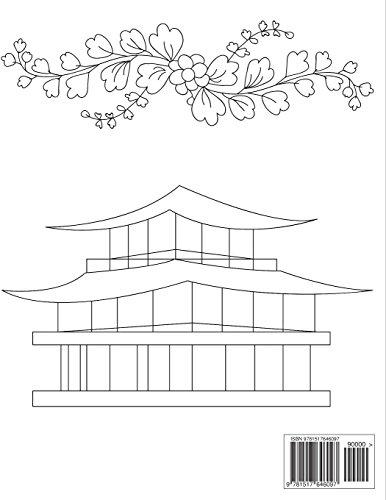 Adult Coloring Book - Japan