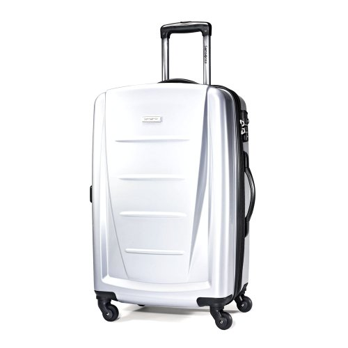Samsonite Luggage Winfield 2 Light Spinner Bag, Silver, 24 Inch B0079OS73C