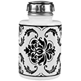 MENDA One Touch Black Damask Bottle 6 oz 35588