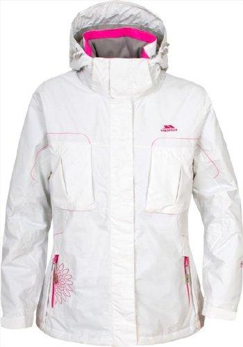Girls TRESPASS IVANA Waterproof Thermal Winter Ski Jacket White Age 9-14