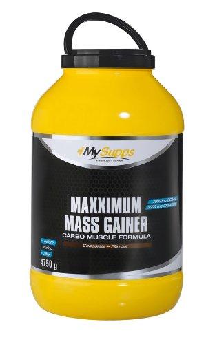 My Supps Maxximum Mass Gainer, Schoko, 4,75kg Dose