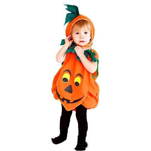 ハロウィン グッズ コスチューム 衣装 子供 かぼちゃ 可愛い 仮装 お化け  帽子 (S(100-110CM))