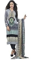 Vivacity Women's Cotton Unstitched Dress Material (Shehnaz-02_Multi_Free Size)
