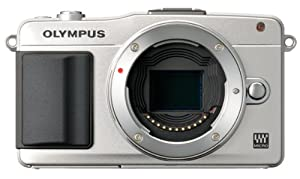 Olympus E-PM2 Interchangeable Lens Digital Camera [Body Only] Silver