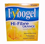 Fybogel Hi-Fibre Orange Drink 10 Sachets - Gently Relieves Constipation