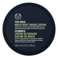 The Body Shop For Men Maca Root Shave Cream Regular, 6.3-Fluid Ounce