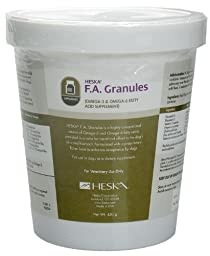 F.A. Granules by Heska. 450 grams