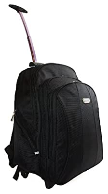 High Quality Large Wheeled Backpack Rucksack Work Flight Bag Hand Luggage