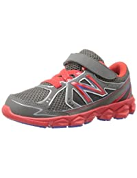 New Balance KV750 Youth Hook-and-Loop Running Shoe (Little Kid)