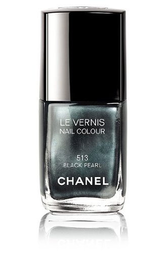 Chanel Le Vernis Nail Colour Black Pearl 513 Spring 2011 Collection