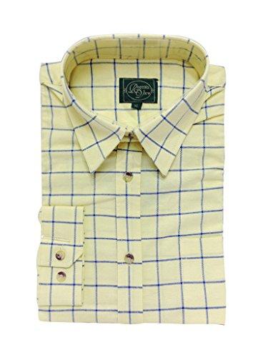 regents-view-damen-button-down-bluse-gr-40-mehrfarbig-yellow-blue