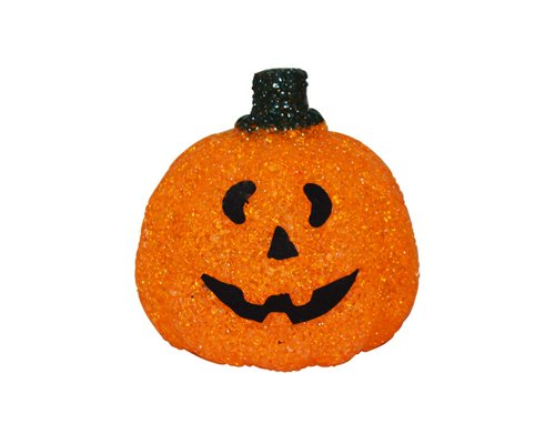 Halloween Decoration Sparkling Outdoor Pumpkin Porch Light Cover Light - Orange