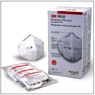 DS2マスク相当品 3M製 9010 N95/1箱50枚入 防護マスク(防塵・防じん)【欧米出荷版】日本語使用説明書付き