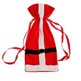 Bottle Cover, Yasalu Santa Claus Christmas Wine Bottle Cover Bags Decoration Home Party