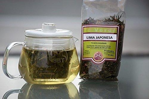 te-verde-en-hebra-lima-japonesa-saboreateycafe-100-grs-te-verde-sencha-hierba-de-limon-trozos-de-lim