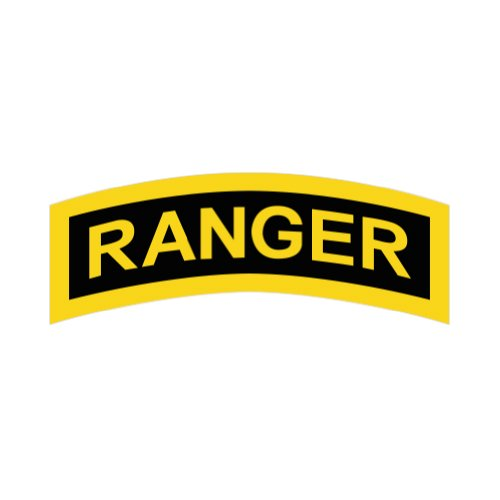 United States Army Rangers - Color Sticker - Decal - Die Cut (Ranger Decal compare prices)