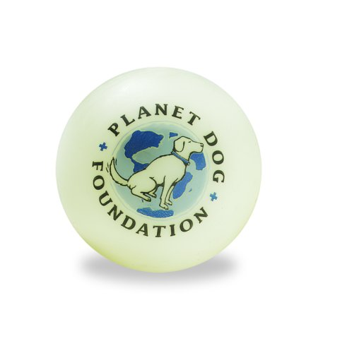 Planet Dog Orbee-Tuff Glow For Good Ball front-115306