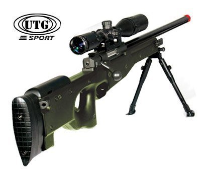 Green Type 96 airsoft rifle Shadow OPS airsoft