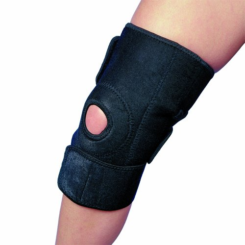 Magnetic Open Patella Knee Support: Flexible for Sports