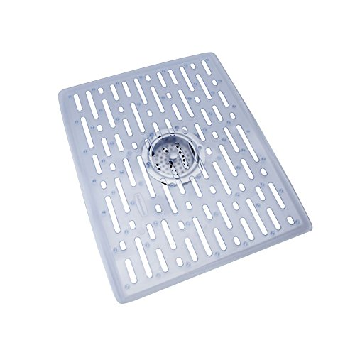 Kohler Sink Mats : Rubbermaid Evolution Antimicrobial Sink Mat, Large, Clear primary