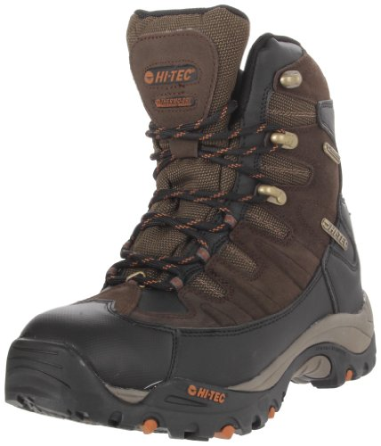 Hi-Tec Men's Jackson Hole 400 Insulated Hiking Boot,Dark Chocolate/Taupe/Butternut,11.5 M US