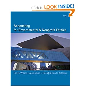 Image Result For Accounting For Governmental And Nonprofit En Ies Wilson Kattelus