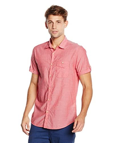 Springfield Camisa Hombre Rosa