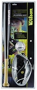 Wilson Little League Set Kit de baseball junior Multicolore 66 cm