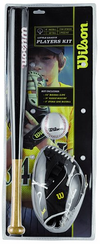 Wilson Little league Set BaseBall Kit - 24-Inch, Multi