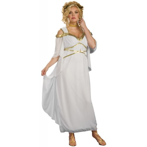 Women's Plus Size Roman Goddess Costume