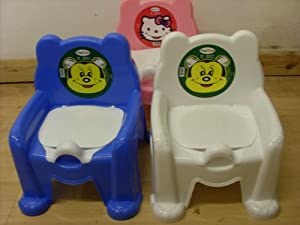 High Quality Flexible Plastic Baby Potty Chair With