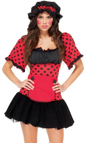 Forplay Women's Darque Doll Adult Sized Costumes
