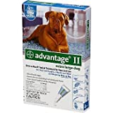 Bayer Advantage II Blue 4-Month Flea Control for Dogs 55+ lbs.