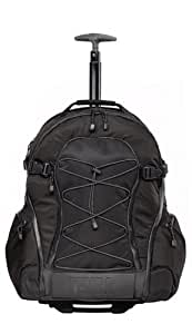 Tenba 632-333 Shootout Large Backpack with Wheels (Black)