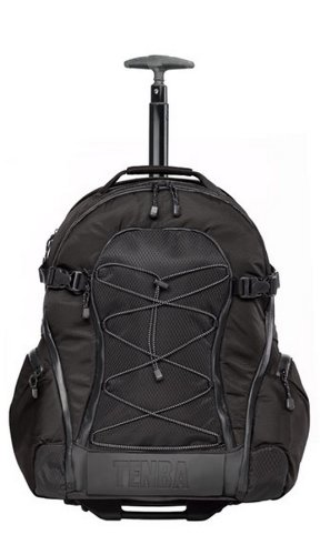 Tenba 632-333 Shootout Large Backpack with Wheels (Black)