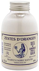 Marius Fabre Natural Bath Salts of Camargue 600ml - Orange Zest