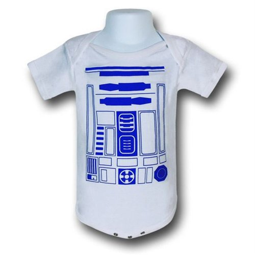Star Wars R2D2 Costume Infant Snapsuit- 18-24 Months