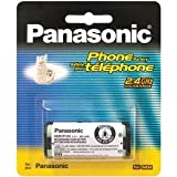 Panasonic 2.4V Replacement Cordless Telephone Battery (HHR-P105A)