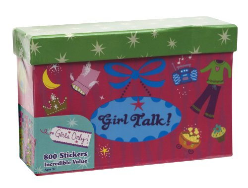 Paper Magic Girls Only, Girl Talk 800 Count Sticker Box - 1