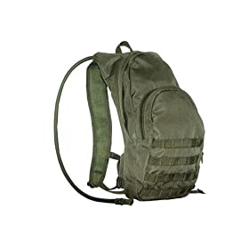 Military Green Overland Color  Bladder for Cycling, Moutain Biking, Snowboarding, Hiking, and Great Outdoors