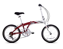 "20"" Giordano Folding Bike (20-Inch Wheels) from Kent International, Inc."