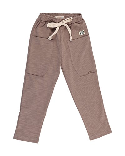 oceankids-boys-cotton-knit-slack-elastic-waistband-casual-jogging-trousers-light-brown-5-6-years