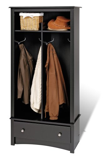 For Sale! Prepac Sonoma Black Entryway Organizer