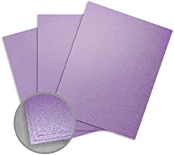 Stardream Amethyst Card Stock - 11 x 17 in 105 lb Cover Smooth C2S 100 per Package