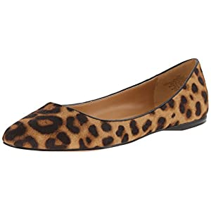 Nine West Women's Speakup Pony Ballet Flat