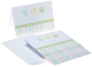 Wilton Sweet Baby Thank You Cards