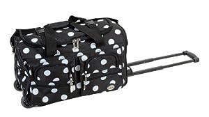 Buy Rockland 22 Black Dots Duffel Bag By Fox Luggage by Fox Luggage