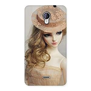 Impressive Royal Doll Multicolor Back Case Cover for Micromax Unite 2 A106
