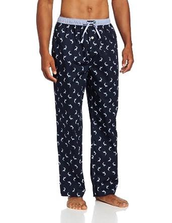 Tommy Hilfiger Men's Swordfish Sleep Pant, Evening Blue, Small